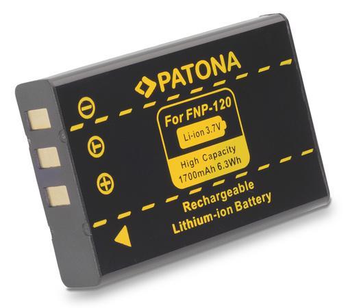 PATONA baterie pro foto Fuji NP-120 1700mAh