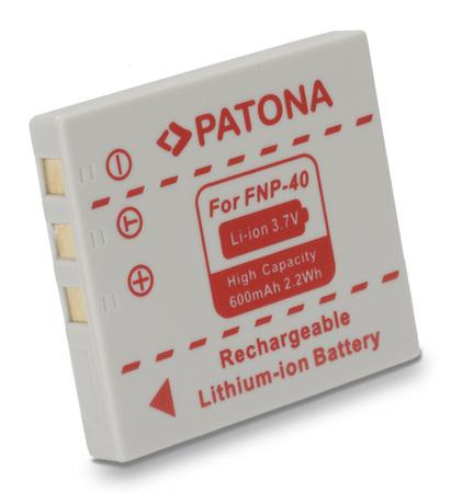 PATONA baterie pro foto Fuji NP-40 600mAh