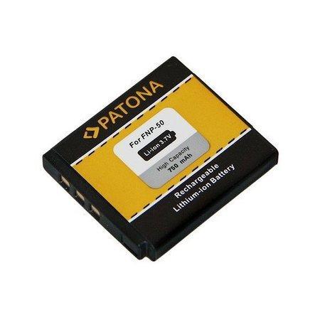 PATONA baterie pro foto Fuji NP-50 750mAh