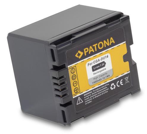 PATONA baterie pro foto Panasonic CGA-DU14 1400mAh