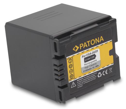PATONA baterie pro foto Panasonic CGA-DU21 2100mAh