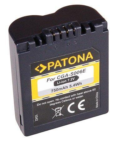 PATONA baterie pro foto Panasonic CGA-S006E 710mAh
