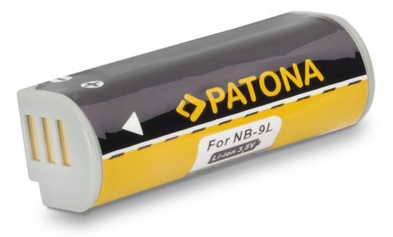 PATONA baterie pro foto Canon NB-9L 700mAh