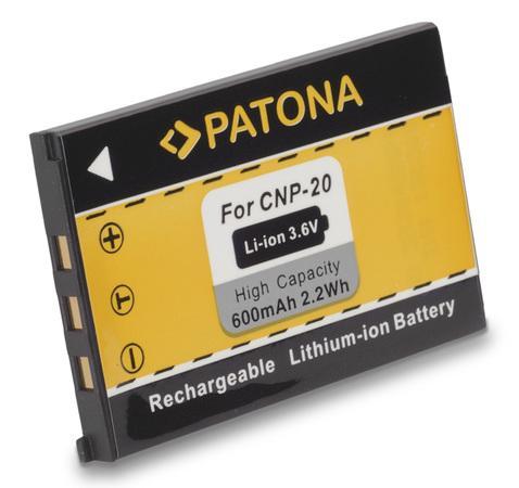 PATONA baterie pro foto Casio NP-20 600mAh