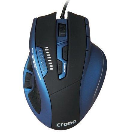 !! AKCE !! Crono CM638 High-end laserová herní myš, USB , do 8200 DPI, CM638