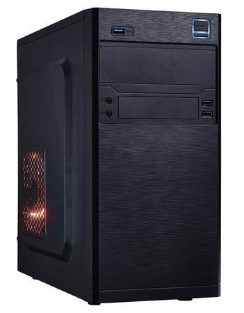 EUROCASE MC X202 ATX black černý, bez zdroje, microtower mATX (USB2+USB3, +Audio), MCX202B00
