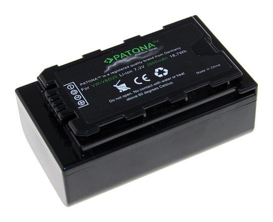 PATONA baterie pro foto Panasonic VW-VBD29 2600mAh Li-Ion