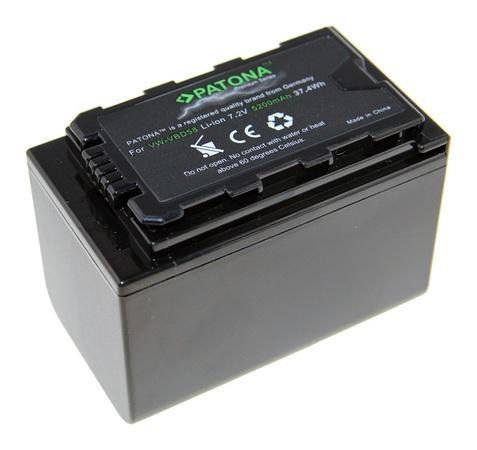 PATONA baterie pro foto Panasonic VW-VBD58 5200mAh Li-Ion