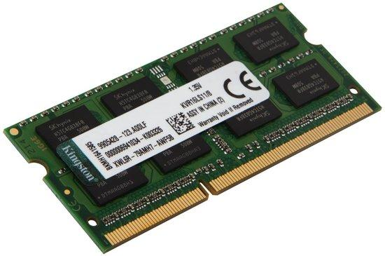 KINGSTON 8GB DDR3L 1600MHz / SO-DIMM / CL11 / 1.35V