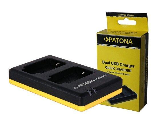 PATONA nabíječka Foto Dual Quick Canon LP-E10 USB