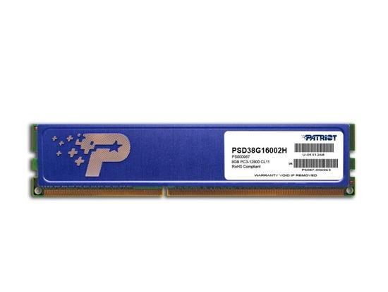 Patriot DDR3 8GB 1600MHz CL11 PSD38G16002H