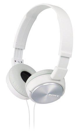 SONY sluchátka MDR-ZX310,bílá