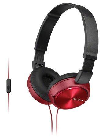 Sluchátka Sony MDRZX310APR.CE7 - červená