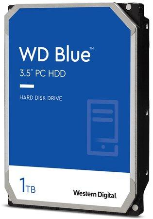 "WD HDD BLUE 1TB / WD10EZRZ / SATA 6Gb/s / Interní 3,5""/ 5400rpm / 64MB, WD10EZRZ"