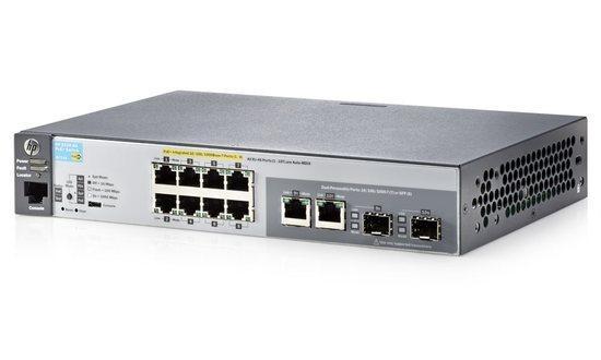 HP Aruba 2530-8G-PoE+ Switch (J9774A), J9774A#ABB