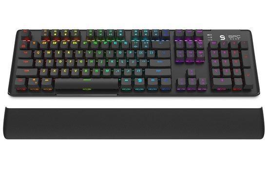 SPC Gear klávesnice GK550 Omnis / mechanická / Kailh Brown / RGB podsvícení / US layout / USB, SPG015