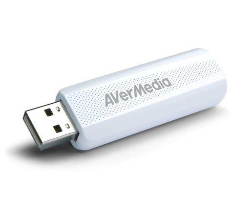 AVerMedia digital TV Tuner TD310, DVB-T2, DVB-T, DVB-C, H.264 HEVC, AVerTV 3D, 61TD3100A0AC