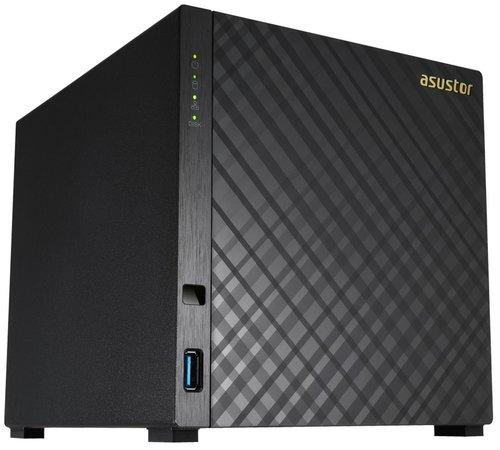 Asustor AS3104T 4-bay/2GB DDR3L/3xUSB 3.0/2x 1GB LAN/HDMI, UAS3104T