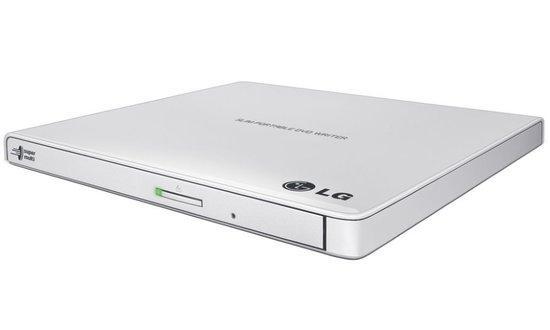 LG GP57EW40 Externí Slim DVD vypalovací mechanika bílá, GP57EW40.AUAE10B