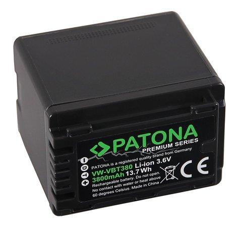 PATONA baterie pro digitální kameru Panasonic VW-VBT380 4040mAh Li-Ion Premium