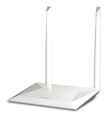 STRONG Wi-Fi router 300/ Wi-Fi standard 802.11/ 300 Mbit/s/ 2,4GHz/ 4x LAN/ 1x WAN/ bílý, ROUTER300