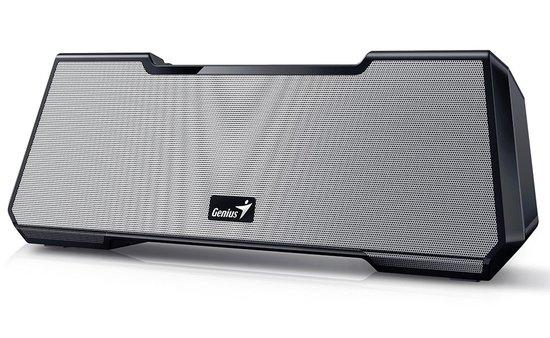 GENIUS repro MT-20/ 2.1/ Bluetooth/ dobíjecí/ 15W/ 3,5mm jack/micro SD/stříbrný, 31731073102