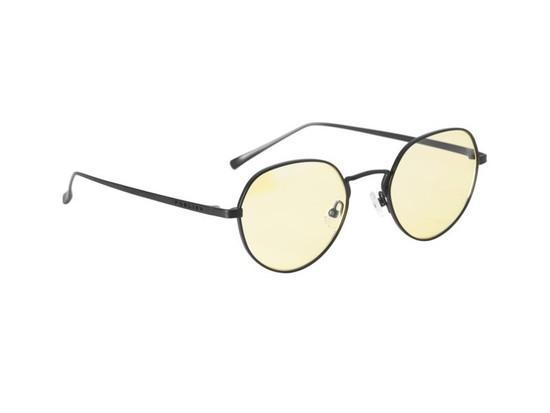GUNNAR kancelářské brýle INFINITE / obroučky v barvě ONYX / jantarová skla, IFT-00101
