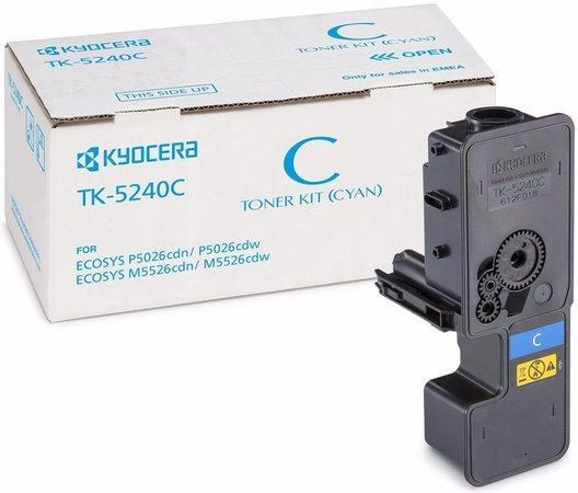 Kyocera toner TK-5240C/M5526cdn;cdw, P5026cdn;cdw/ 3 000 stran/ Cyan