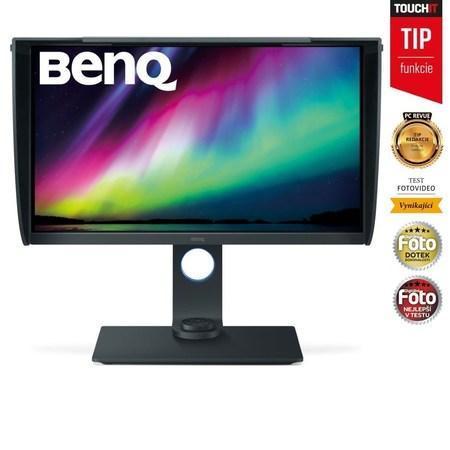 """BENQ 27"""" LED SW271/ 3840x2160/ LBL/ FF/ IPS panel/ 20M:1/ 5ms/ HDMI/ DP/ USB/ černý, 9H.LGLLB.QBE"""
