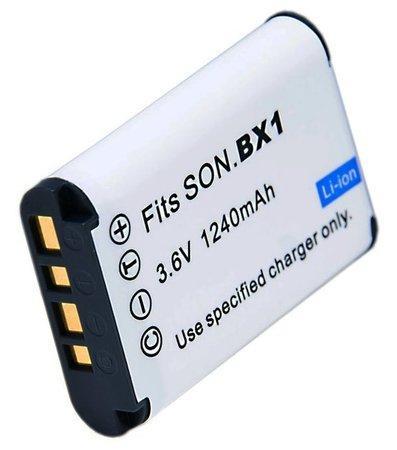 TRX NP-BX1 1240 mAh baterie - neoriginální