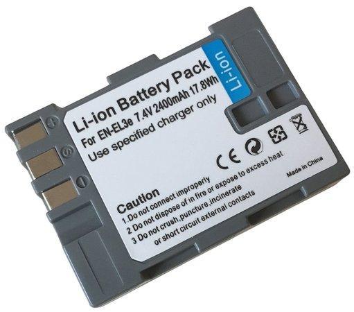 TRX EN-EL3e 1800 mAh baterie - neoriginální