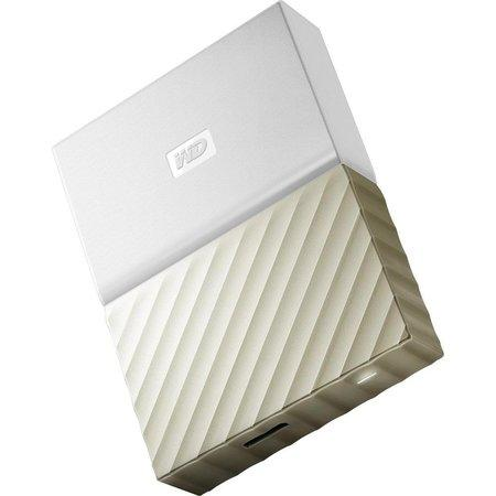 "WD My Passport ULTRA METAL 2TB Ext. 2.5"" USB3.0 White/Gold, WDBFKT0020BGD-WESN"