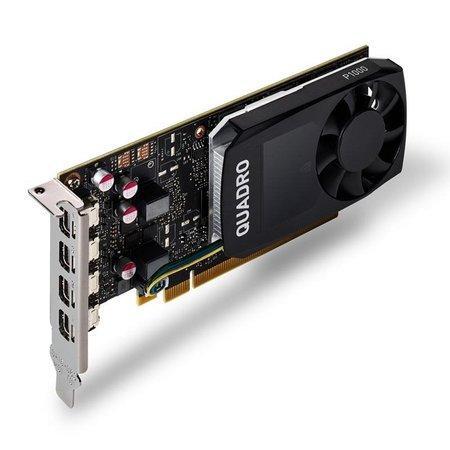 HP NVIDIA Quadro P1000 4GB Kit w/2 Adapters, 1ME01AA