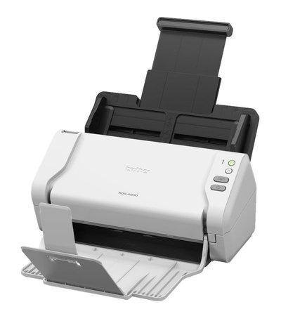 BROTHER stolní skener dokumentů ADS-2200 / 1200x1200 dpi / až 70 str./min. / ADF / USB, ADS2200TC1