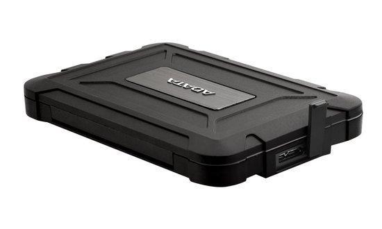 """ADATA ED600 box pro 2,5"""" HDD/SSD / USB / SATA 3.0 / IP54 Water/Dust proof / černý, AED600-U31-CBK"""
