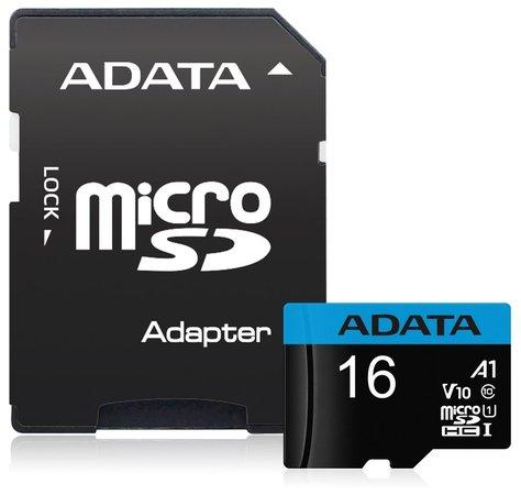 ADATA Premier 16GB microSDHC / UHS-I CLASS10 / + adaptér