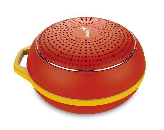 GENIUS repro SP-906BT R2/ 3W/ Bluetooth 4.1/ dobíjecí/ červený, 31730007404
