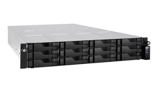 Asustor AS6212RD 12-bay, Intel Celeron Quad Core 1,6 GHz, 4 GB DDR3L, AS6212RD