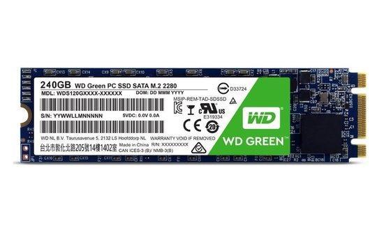WD 240GB, SATA, WDS240G2G0B