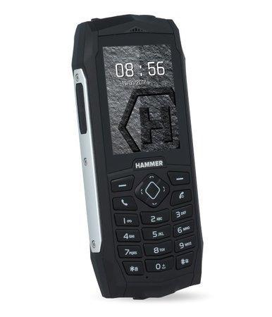 myPhone Hammer 3 Dual SIM stříbrný