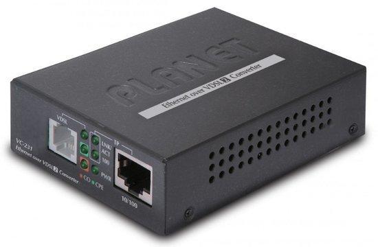 Planet VC-231, Eth. VDSL2 konvertor, 100Mbit, master/slave, RJ-11, VC-231