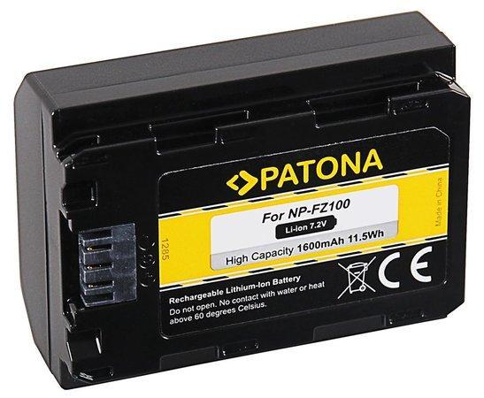 PATONA baterie pro foto Sony NP-FZ100 1600mAh Li-Ion