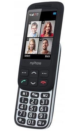 myPhone Halo S s nabíjecím stojánkem černý