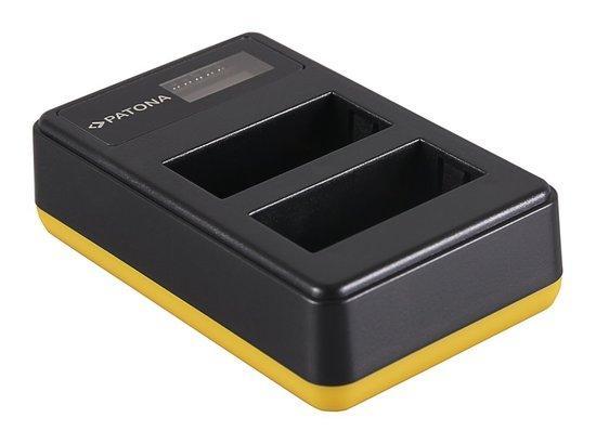 PATONA nabíječka Foto Dual LCD Fuji NP-W126 USB