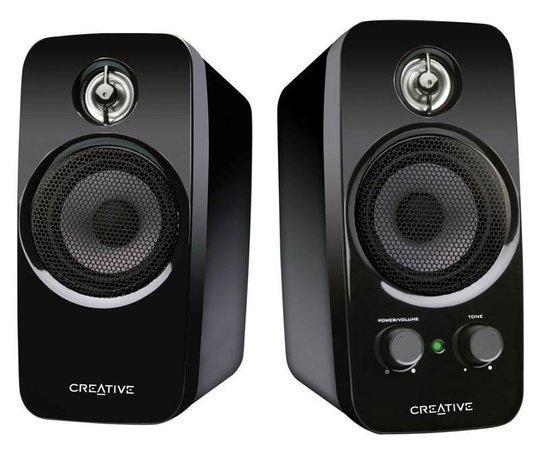 Creative Inspire T10, reproduktory 2.0, RMS 10W, BasXPort, 51MF1600AA000