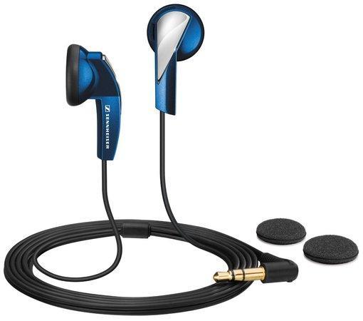 Sennheiser MX 365 sluchátka modré