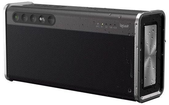 CREATIVE repro SB iROAR GO, přenosné (PC + PS4, NFC, Bluetooth, microSD, microUSB, mic audio in), 51MF8225AA000
