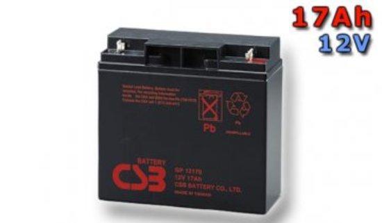 CSB Náhradni baterie 12V - 17Ah GP12170 - kompatibilní s RBC7/11/49/50/55, GP12170