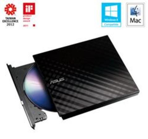 ASUS SDRW-08D2S-U LITE DVD mech. černá, 90-DQ0435-UA161KZ/221KZ