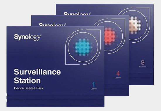 Synology 8 další licence pro IP kameru HDESIP8, DEVICE LICENSE (X 8)